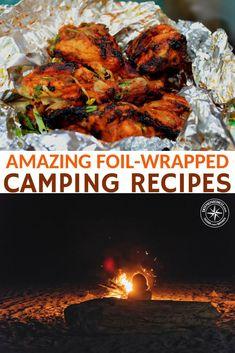 "21 Amazing Foil-Wrapped Camping Recipes -- As many campers say ""everything tastes better when it's cooked over a campfire"" I have to agree, I have always prefered the taste of campfire food, I think that's why I go camping so much! #camping #campingreipes #foilwrappedrecipes #campfirerecipes #recipesforcamping #campingmeals"