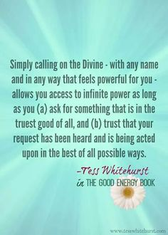 Calling on the Divine