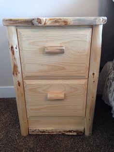 bedside gun safe nightstand log style hidden stash safes more