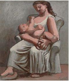 Pablo-Picasso-Maternité-1921-