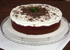 Višňovo smotanová torta - recept