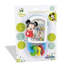 AS Disney Baby Mickey Smartphone Rattle (1000-14504)