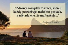 Zdrowy rozsądek to rzecz... #Franklin-Benjamin,  #Rozsądek-i-rozum, #Sarkazm-i-ironia