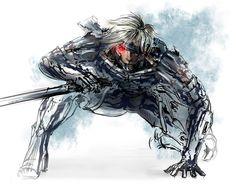 Raiden Ryu Hayabusa, Raiden Metal Gear, Fox Mccloud, Metal Gear Rising, Meta Knight, Samus Aran, Echidna, Metal Gear Solid, Comic Page