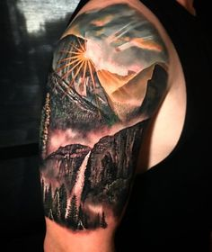 40 landscape tattoo ideas Art and Design - 40 Landscape Tattoo Ideas Ku . - 40 landscape tattoo ideas Art and Design – 40 Landscape Tattoo Ideas Art and design – # - Body Art Tattoos, New Tattoos, Small Tattoos, Sleeve Tattoos, Moutain Tattoos, Art Et Design, Design Design, Design Ideas, Homemade Tattoos