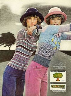 Organically grown    From Mademoiselle, November 1975