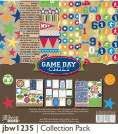 Jillibean Soup -CHA Winter 2012 really cute for soccer and baseball pages