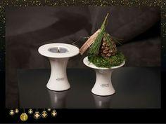 Kerzendeko zu Weihnachten  www.tiziano-shop.com