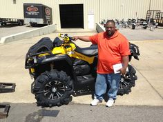 Thanks to Andre Thompson from Roxie MS for getting a 2015 CanAm Outlander Xmr 1000 at Hattiesburg Cycles