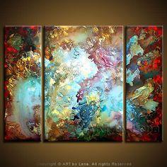 "Nonobjective painting ""Dreams"" Lena Karpinsky"