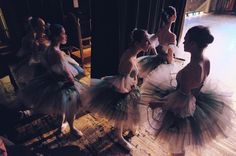 Backstage Photography of Russian Classical Ballet by Darian Volkova #inspiration #photography