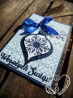 Otwarcie sezonu czyli kartki na Boże Narodzenie czas zacząć... Na blogach i na FB już raczą nas dziewczyny bożonarodzeniowymi kartkami, #asiscrapki