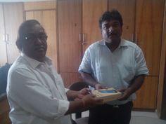 Congratulations to Shri. Ketan K Shukla for winning Samsung Galaxy Tab from #AhmedabadFilmCity Green Project.