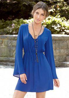Pamela Bell Sleeve Dress - View All Dresses - Dresses - Clothing - Alloy Apparel