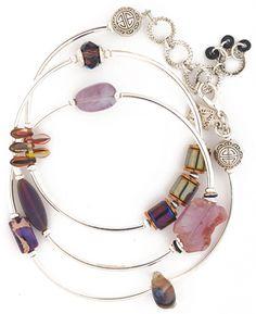 581-EB55 triple wrap bracelet from Desert Heart Jewelry