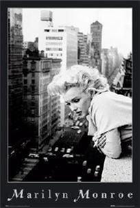 Marilyn Monroe Balcony Poster 16x20
