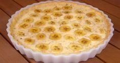Cooking a delicious pie quickly Brunch Recipes, Dessert Recipes, Dessert Weight Watchers, Banana Pie, Banana Cream, Good Food, Yummy Food, Sweet Pastries, English Food