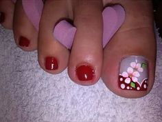Pretty Toe Nails, Cute Toe Nails, Cute Toes, Pretty Toes, Toe Nail Art, Pedicure Nails, Mani Pedi, Manicure, Pedicure Designs