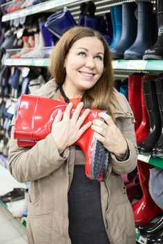 Wide Calf Womens Rain Boots are a true prize when you find them. Why does it have to be so hard to find extra wide calf rain boots? Check out what I found. Cute Rain Boots, Snow Gear, Wide Calf Boots, Calves, Best Gifts, Leather Jacket, Gift List, Shoe Bag, Alaska