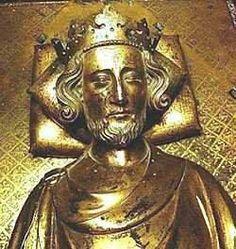 Henry III, King of England (in effigy on his tomb)