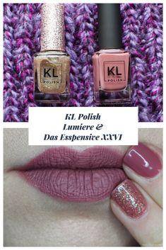 KL Polish   Lumiere & Das Esspensive XXVI - Lipstick on the Lake