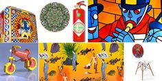 Stylish kitsch: colourful collages of Maison&Objet's theme 'House of Games'…