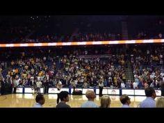 Ashley Argota sings the National Anthem at Lakers Pre-Season game #AshleyArgota