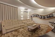 Salas multimedia de estilo moderno por Arquiteto Aquiles Nícolas Kílaris