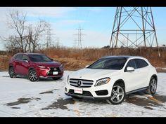 2015 Mercedes-Benz GLA250 vs 2015 Lexus NX200t - YouTube