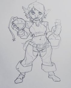 """2,169 Likes, 94 Comments - Dylan Ekren (@dekren) on Instagram: """"A Girblin alchemist. Throw out some names in the comments. Best name wins this drawing."""""""