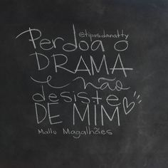 Perdoa o drama