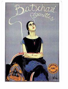 E149 SINGLE swap playing cards ART DECO style lady CIGARETTE SMOKING ADVERT