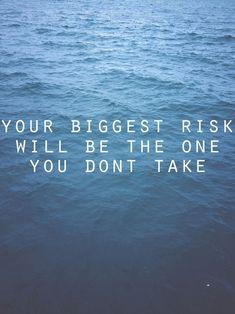 risk..