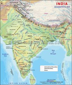 Find information about Indus River, its Origin, Drainage, Tributaries and Wildlife of the Indus River. Indus River Map showing the Route of Indus River. Himalayas Map, Indian River Map, India World Map, Map Of India, India India, North India, Godavari River, Pakistan Map, Brahmaputra River