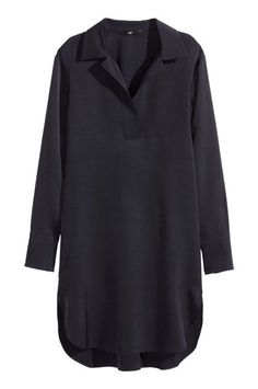 30 Of The Best Under-$100 Finds At H&M #refinery29  http://www.refinery29.com/hm-clothes-under-100-dollars#slide-6  This tunic is long enough to wear as a dress, but it also plays well with others, like pants.