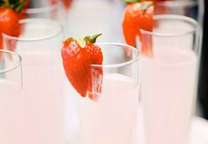 Sweet On You Strawberry Vodka Lemonade Recipe  2 cups sliced fresh sliced strawberries 1 cup granulated sugar 7 cups water, divided 1-1/4 cups lemon juice (about the juice from 6 lemons) Pinnacle Strawberry Shortcake Vodka