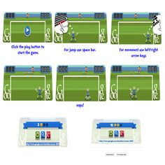 "Play Football (Soccer) on Google Doodle Featuring ""London 2012 Football"""