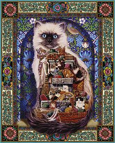 Cats Galore Puzzle from White Mountain Puzzles