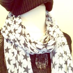 Accessories - Long Star Scarf