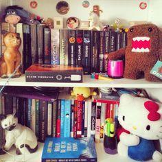Estantería de libros.