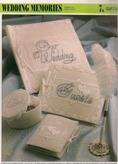 Wedding Memories Plastic Canvas Pattern by needlecraftsupershop, $4.50