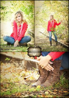 Really cute, but in the last picture with her boots, maybe ware my class ring on one of my hands??