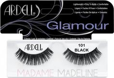 Ardell's best selling Fashion Lashes are lightweight, reusable, easy to apply, and the ultimate in comfort. They are hand made from sterilized, 100% natural hair so they look and feel like your own! #FashionLashes #101 offer a glamorous look. Ideal for large or round eyes. #ardelllashes110 #ardellashes #falselashes #glamourlashes #handmadelashes  http://www.madamemadeline.com/online_shoppe/proddetail.asp?prod=afl101