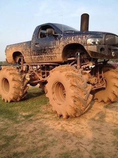 """Coal Train"" Dodge mud truck"