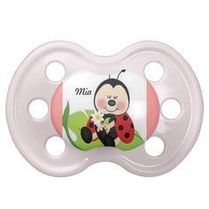 Pacifier Ladybug