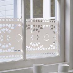 Window Film Lace from Studio Haikje. Window stickers - Window films - Window Design #Windowstickers #Window decorations #Windowdecals