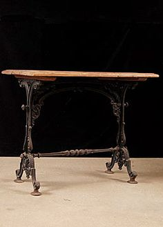 Amazing Cast Iron Table Base