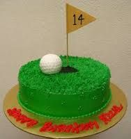 Image result for golf birthday cakes