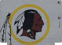 Microsoft - Surface Pro 4 Special Edition NFL Type Cover - Washington Redskins