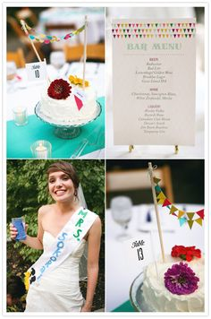 bar menu - papel picado across the top? Wedding Designs, Wedding Styles, Wedding Blog, Diy Wedding, Cupcake Centerpieces, Sustainable Wedding, 100 Layer Cake, Bar Menu, Anniversary Parties